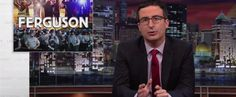 John Oliver has once again brought clarity, humor and unmatched intelligence to a national issue on Last Week Tonight— this time dissecting unrest in Ferguson, Missouri over Michael Brown, an unarmed teenager getting shot at least six times and killed by white police officer Darren Wilson.