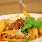 Penne and Vodka Sauce w/pancetta
