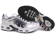 Hommes Nike Air Max TN chaussures mode Blanc Noir