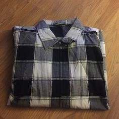Plus size short sleeve light weight jacket Black, white and grey plaid light weight jacket, short sleeves for summer wear. Very comfortable and falls below the hips. Full length zipper opening. No stains, rips or tears. Fashion Bug Jackets & Coats
