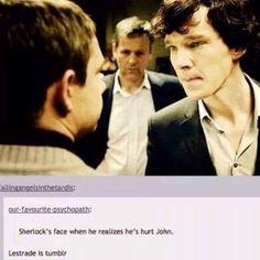 Lestrade is tumblr
