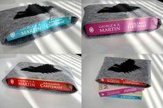 Karbon Crafts - Game of Thrones Keçe Kitap Koruyucu Kılıf