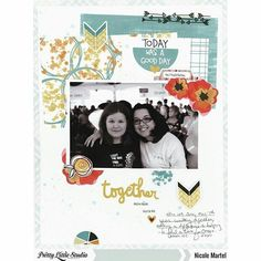 Check out my latest layout up on Pretty Little Studio's blog. I love how this turned out. #prettylittlestudio @prettylittlestudio #shimmerzpaints @shimmerzpaints #layout #scrapbooking #lightthenight #memorykeeping #oakleyavenue #plsoakleyavenue