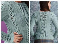 Vogue Knitting 2014: Fretwork Cables