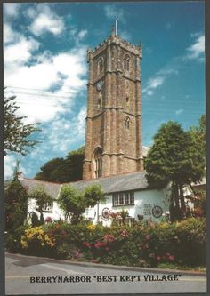 Probably the Largest Postcard Stockist in the UK with almost million Postcards in stock, from Antique and Vintage to our Own British Made Postcards. St Peter's Church, Devon, Postcards, Stamps, Childhood, Tower, Cottage, Travel, Seals