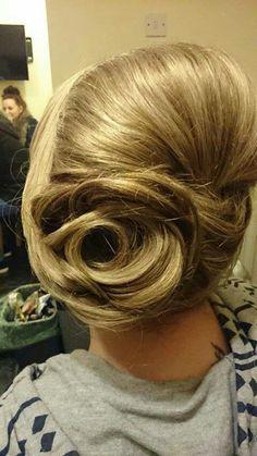Kayleigh sterio hair up