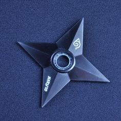 Naruto Shuriken Black Zinc Alloy