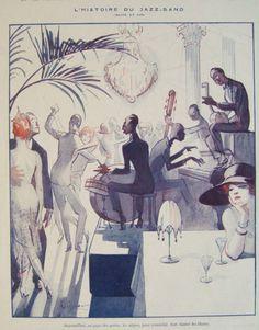L'histoire du Jazz-Band  La Vie Parisienne
