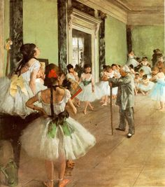 ^^  Las bailarinas de Edgar Degas. Impresionismo