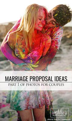 Engagement Photo Poses For Couples Part 1 ❤ So we have collected some marriage proposal ideas to give couples some examples. See more: http://www.weddingforward.com/marriage-proposal-ideas/ #weddings #engagement
