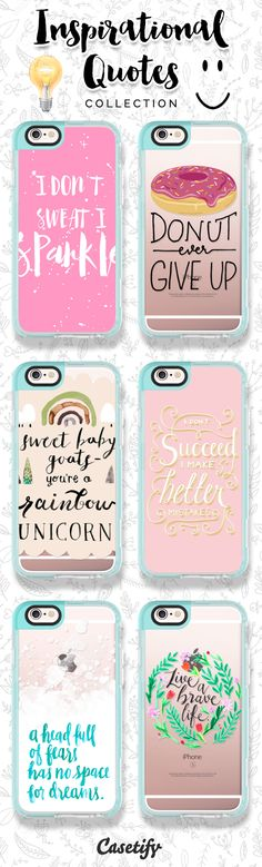 Receive some positive energy by checking out our Inspirational Quotes collection now! https://www.casetify.com/collections/inspirational_quotes | @casetify