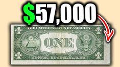 Rare Dollar Bills Hiding in your wallet! 2 Dollar Bill Value, Old Coins Price, Old Coins Value, Old Coins Worth Money, Money Bill, Valuable Coins, Coin Prices, Coin Worth, Coin Values