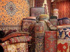 Persian rugs.