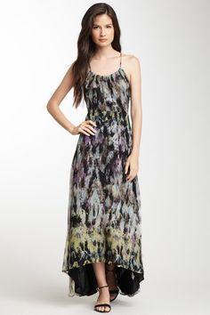 Print Silk Hi-Lo Dress by Isabel Lu on @HauteLook