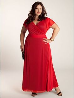 Letta Plus Size Dress in Tangerine - Dresses by IGIGI