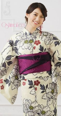 AKB48 member and kimono designer Yuko Oshima for OshimaUCo Kimonos