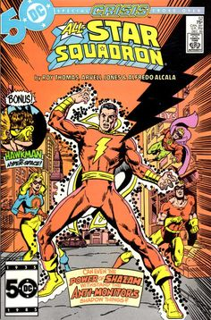 Cover for All-Star Squadron (DC, 1981 series) #52