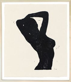 John Derian Company Inc — Arms Raised Nude Black linocut $480