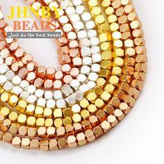 JHNBY perles carrées mates, 2mm, en hématite, en pierre naturelle, espacées, grosses perles, pour la fabrication de bijoux, accessoires, bricolage, bracelet à breloques,Profitez de super offres, de la livraison gratuite, de la protection de l'acheteur et d'un retour simple des colis lorsque vous achetez en Chine et dans le monde entier ! Appréciez✓Transport maritime gratuit dans le monde entier ✓Vente à durée limitée✓Facile à rendre