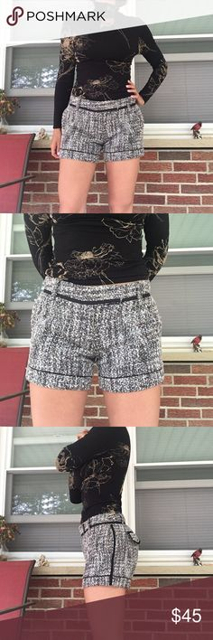 BCBG grey black shorts Size 4. True to size. Shirt is NOT included. If u would also like the shirt it is an additional $10. Just comment and I'll adjust the listing. Tags : Timberland, boots, Nike, true religion, Gucci, Victoria's Secret, MAC, cardigan, Iso, Michael Kors, PINK, UGG, Louis Vuitton, Christian Louboutin, Chanel, spring, summer, winter , fall , maxi, fleece, Jordan, athletic shoes , pumps, hoodies, plus size, prom, H&M, forever 21, combat boots, ankle boots, dress, BCBG BCBGirls…