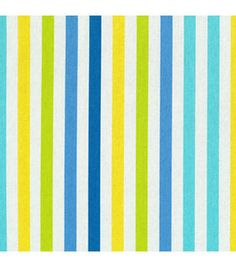 Home Decor Print Fabric- Waverly - Line Up Bluebell
