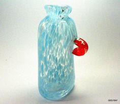 Art Nouveau Collectable Venetian Latticino Glass Pedestal Dish Skillful Manufacture