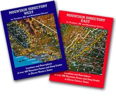The Mountain Directory Ebooks Review – Why you need it? The Mountain Directory Ebooks provide the destinations and information of more than 700 mountain passes and steep grades in 22 states. The Mountain Directory e-books show you the place that the steep grades are, how much time they are, how steep (%) they're, whether the street is two lane, three lane, or four lane, if there are escape ramps, switchbacks, sharp curves, speed limits, etc.