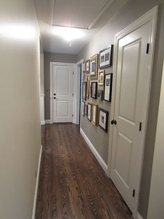 Color of wood flooring with grey walls and white trim for Can you stain vinyl flooring