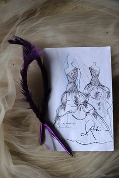 Bridal Gown Sketch