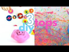 Babble Dabble Do - YouTube Babble Dabble Do, Spinning Top, Diy Toys, 3 Things, Activities For Kids, Projects To Try, Easy, Youtube, Tops