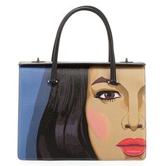 ~Prada Face Art Bag From Spring Summer 2014 Collection | The House of Beccaria