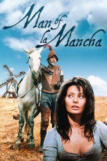 """Cartel de """" Man of la Mancha"""""""