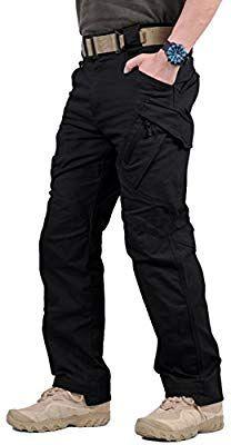 GooDoi Work Trousers for Man Mens Cargo Trousers Men's Combat Trousers Military Outdoor Pants for Camping Hiking Walking - UKsportsOutdoors Mens Combat Trousers, Walking Trousers, Combat Pants, Work Trousers, Outdoor Pants, Outdoor Wear, Blue Pants Men, Tactical Cargo Pants, Waterproof Pants