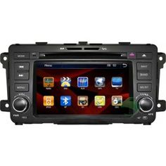 All-in-one Mazda 9 DVD Player GPS Navigation OEM Replacement System Stereo Upgrade with Radio TV Bluetooth Ipod-1