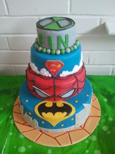 Gage's would be more like; superman, Spider-Man, and a couple ninja turtles lol