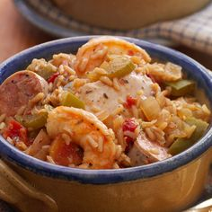 Slow Cookers Cajun Jambalaya