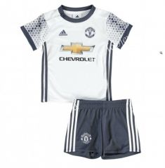 2016 17 Manchester United Away White Kids Youth Soccer Uniform Soccer  Shorts c19247353
