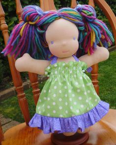 Waldorf Doll By DebSteinerDolls