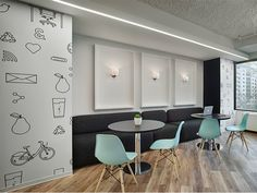 Gensler completed the design of the MakeOffices K Street coworking space located in Washington DC. MakeOffices is a growing company specializing in Open Office, Shared Office, Office Spaces, Coworking Space, Corporate Interiors, Office Interiors, Cafe Restaurant, Plank, Commercial Office Design
