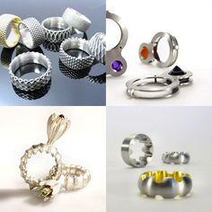 TheCarrotbox.com modern jewellery blog : obsessed with rings // feed your fingers!: Susanne Matsché / Till Baacke / Hélène Kaufmann Wiss
