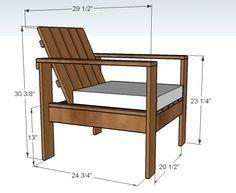silla de patio