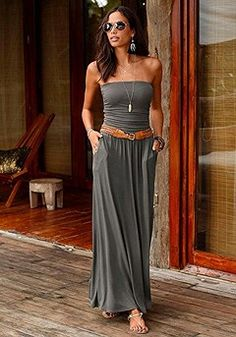 13962a971a 56 Best Strapless Summer Dresses images