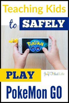 Teaching Kids To Safely Play Pokémon GO