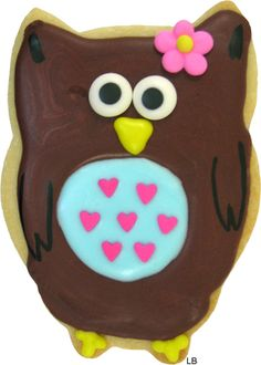 Super cute owl cookie cutter from coppergifts.com. Expensive though - $12.95 + six bucks to ship!