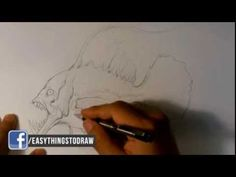 Drawing a Fish (no audio)  #sketchmonster   #coolstufftodraw   #howtodrawcoolthings    #funthingstodraw  #fantasyart