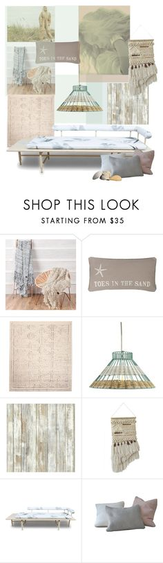 """""""Between the Land and the Sea'"""" by dianefantasy ❤ liked on Polyvore featuring interior, interiors, interior design, home, home decor, interior decorating, UGG, Holly's House, RoomMates Decor and Volk"""