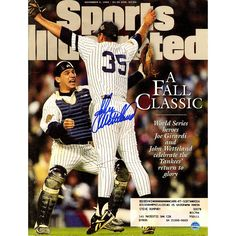 John Wetteland Signed 11496 Sports Illustrated Magazine - This Sports Illustrated magazine has been personally hand-signed by Yankees great John Wetteland.Issued on November 4th 1996100% Guaranteed AuthenticIncludes Steiner Sports Certificate of Authenticity Features Tamper-Evident Steiner HologramWould make a perfect gift!. Gifts > Collectibles > Mlb Memorabilia. Weight: 1.00