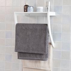 a72b96af99 21 fantastiche immagini su Porta asciugamani | Small bathrooms ...