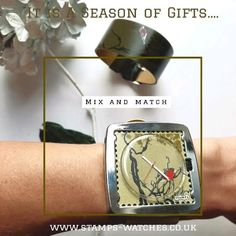 #christmasgifts #stampswatch #leatherbracelet #watch #perfectgiftidea