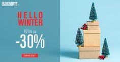 Hello Winter cu 30% reducere a FashionDays